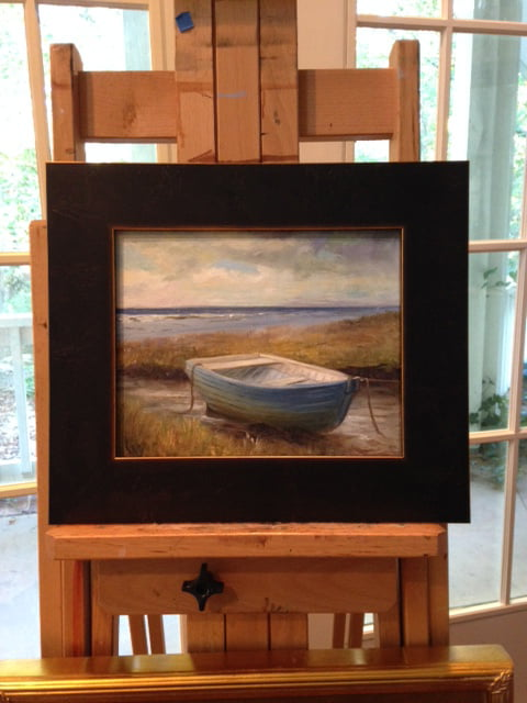 Moored - 8x10 oil on board   Artist's Own Collection