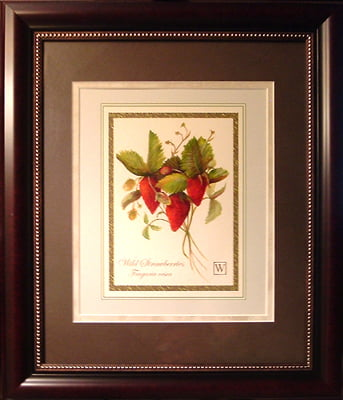 Strawberries - 8 X 10 oil on acid free specialized paper